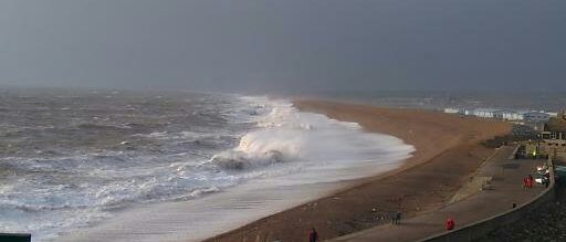 Chesil Beach Portland  (A bit of a rough day)