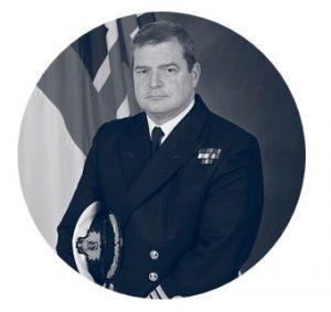 Captain Paul Stroude, Royal Navy Commanding Officer, HMS Portland