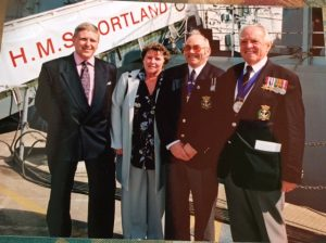 HMS Portland Commissioning Ceremony 2001