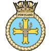 HMS Portland Ships Crest