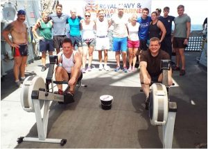 "HMS Portland Fitness Challenge ""Row the Suez"""