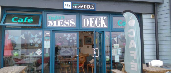 The Mess Deck Cafe, Portland Marina, Opsrey Quay, Portland