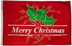 Merry Christmas Flag