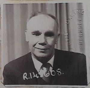 Bertie Barrett, Chief Engineer, Merchant Navy