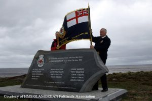 HMS Glamorgan Hookers Point Memorial