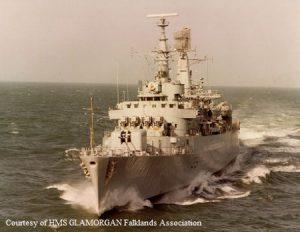 HMS Glamorgan 1982