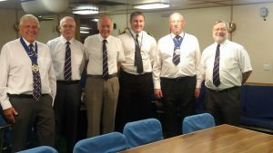 Standeasy in the Wardroom with Andy Parker, HMS Portland