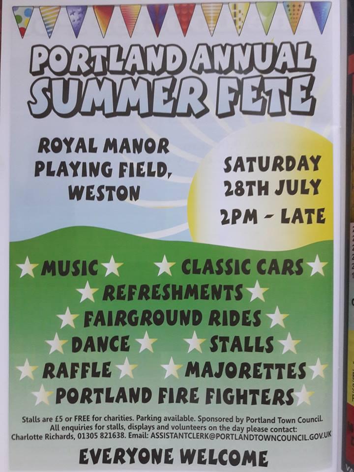 Portland Summer Fete @ Royal Manor Playing Fields | England | United Kingdom