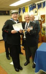 Diamond Community Award Winner. Able Cadet William