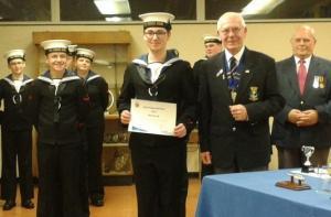 Dick Barton Trophy, Runner Up.Cadet Finley