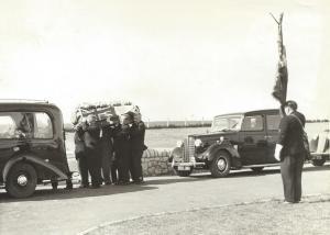 RNA Funeral Circa 1956 - Shipmate Not Known