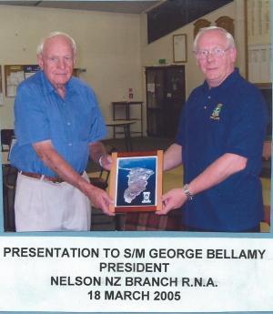 RNA Nelson NZ Branch 18 Mar 2005