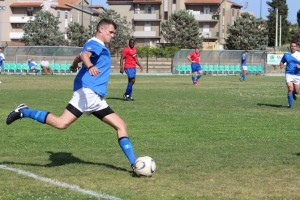 Sardinia - Football against Defender 2016